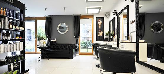 Wnętrze Salonu Atelier Bernady